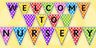 Image result for welcome to nursery sign